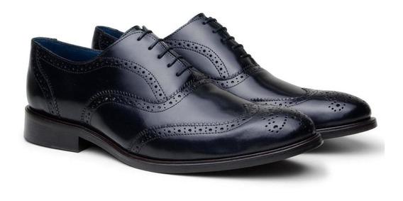 Sapato Masculino Brogue Braga Dom Store Couro