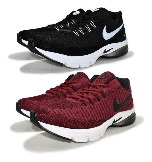 Tênis Nike Air Presto Academia Unisex Promoção Kit 2 Pares