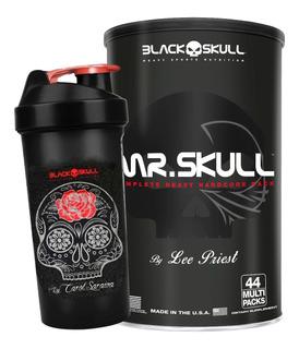 Melhor Pack Do Mundo Mr Skull 44 Pack - Black Skull + Brinde
