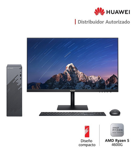 Computadora Huawei Display 23.8 + Matestation S  8gb, 256ssd