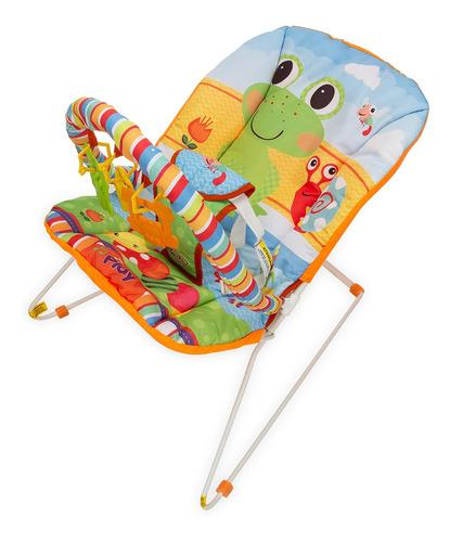 Cadeirinha Cadeira Descanso Bebe Musical Sapinho Maxi Baby