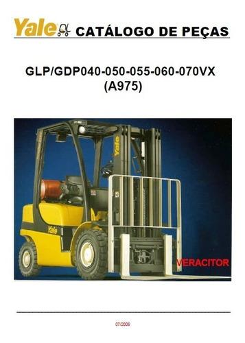 Empilhadeira Yale Glp050/060/070vx (a975) Pg496 Manual Peca