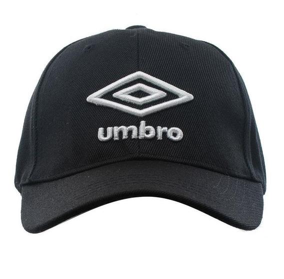 Gorra Umbro U-cap Logo 3d U-upmg008-nvv Negro