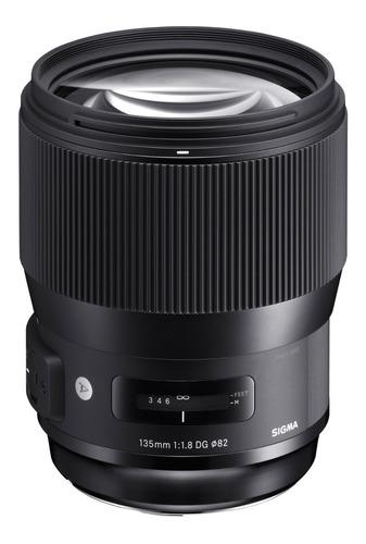 Lente Sigma 135mm F1.8 Dg Hsm Art Nikon Canon Nuevo !!!