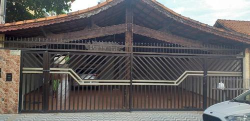 Casa Com 1 Dormitório À Venda, 58 M² Por R$ 160.000 - Jardim Imperador - Praia Grande/sp - Ca0738