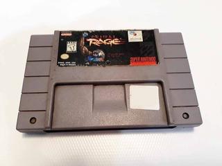 Primal Rage / Super Nintendo / Juego / Snes / Original