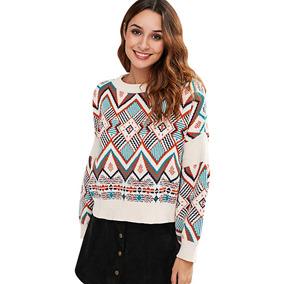 49360f8da68 Sweater Jacquard Mujer Polero - Vestuario y Calzado en Mercado Libre ...