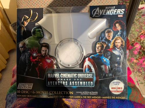 Bluray Marvel Cinematic Universe Fase 1 - Colección Completa