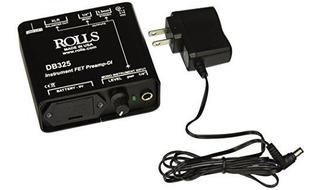 Rollos Db325 Instrumento Fet Preamp-di