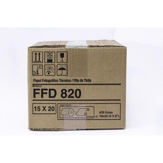 Conjunto De Papel/fita Ffd820 (15x20/10x15)