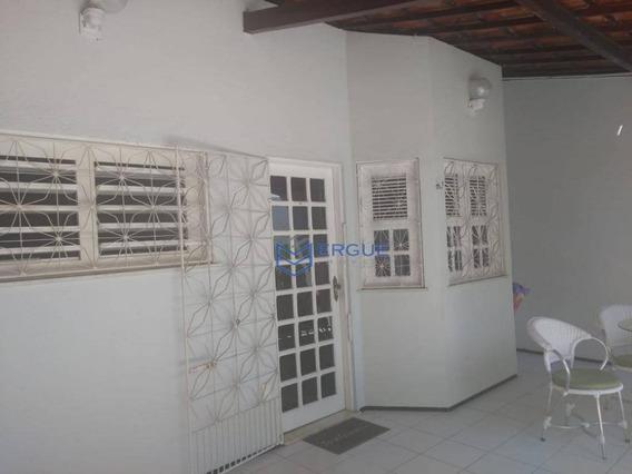 Casa Com 3 Dormitórios À Venda E Locação, 106 M² - José De Alencar - Fortaleza/ce - Ca0647
