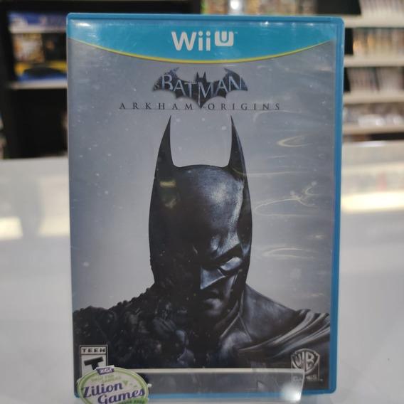 Batman Arkham Origins Nintendo Wii U - Completo