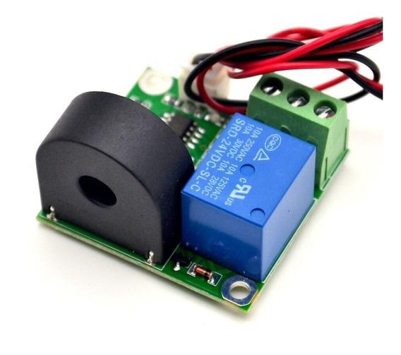 Módulo Relé C/ Sensor Detector De Corrente Elétrica Campo