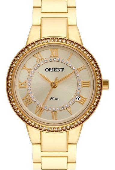 Relógio Orient Feminino Dourado Fgss1165 C2kx