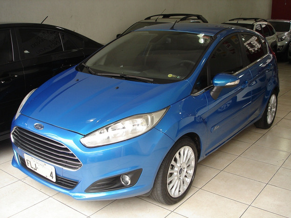 Ford Fiesta Hatch Se Titanium 1.6 16v Automatico 2014
