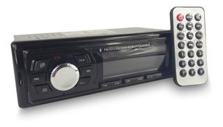 Radio Para Carro Modelo Xscn5 Con Bluetooth Y Control Remoto
