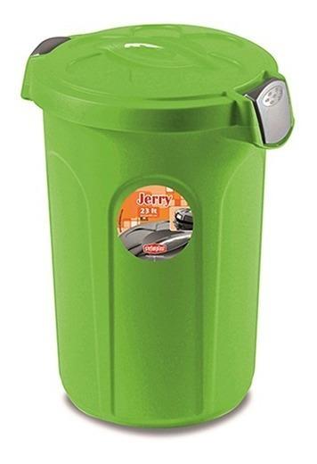 Contenedor Pipote Plastico Para Almacenar Agua 23 Lts