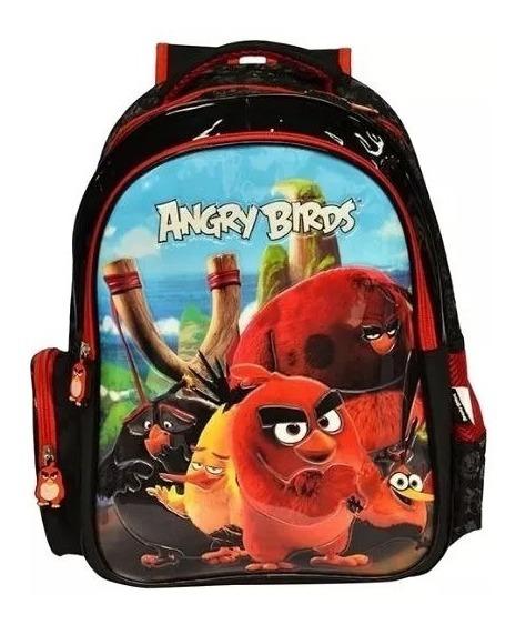 Mochila Costas Angry Birds Abm800401 Original