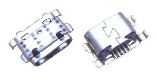 Conector De Carga Placa Microfone Moto E5 / G6 Play Original