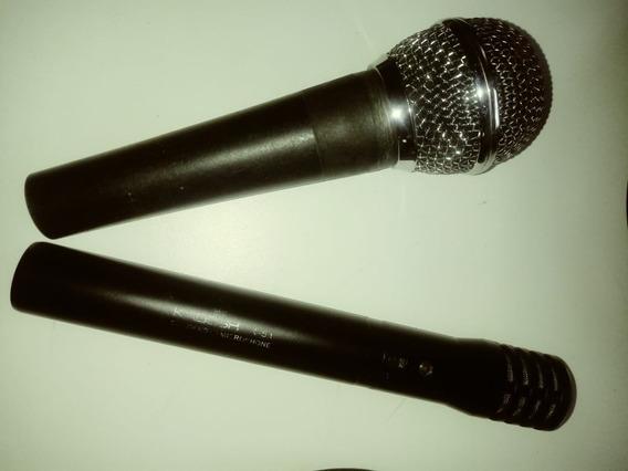 Microfones Kadoshi K-51 E Shure - Ótimo Preço
