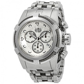 Relógio Invicta Bolt Chronograph Silver Dial Men Watch-23909