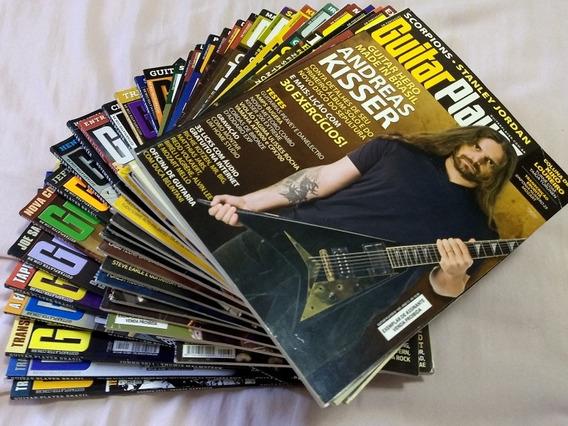 Lote De Revistas Guitar Player Em 12x Sem Juros!