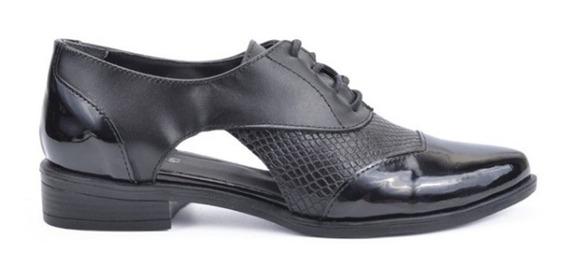 Zapatos Abotinados Abiertos Cuero Vacuno Hot 1286 Rimini