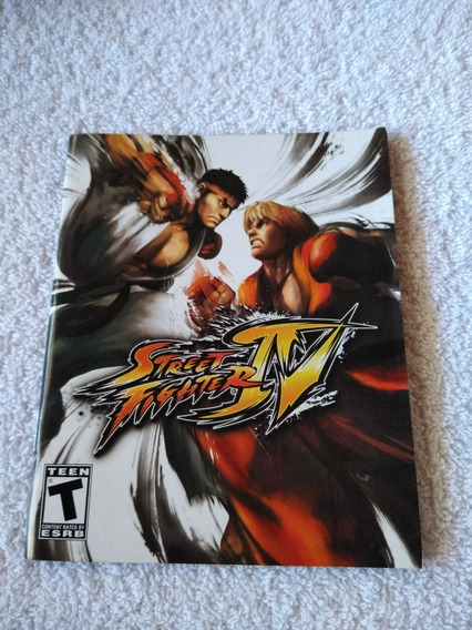 Manual Do Game Street Fighter Iv Ps3 *** Leia