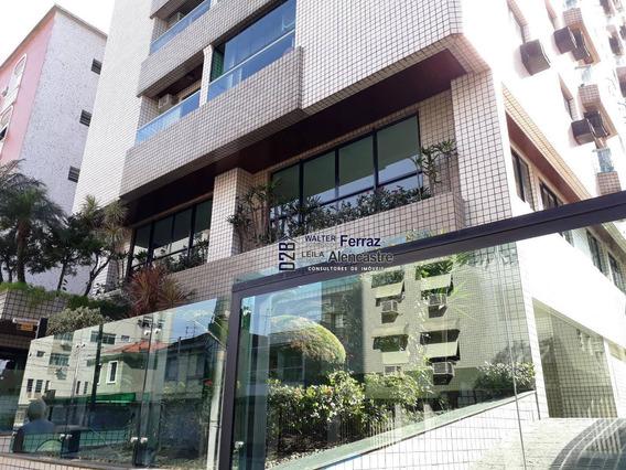 Apartamento 2 Dormitórios Locação 82 M² Por R$ 1.700,00/mês - Campo Grande - Santos - Sp - Ap0344