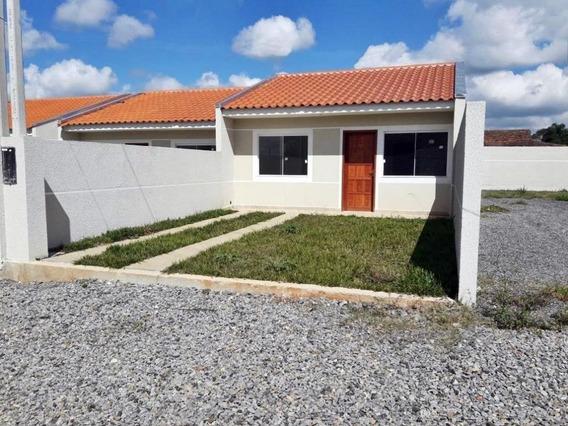 Casa Em Campo Largo Da Roseira, São José Dos Pinhais/pr De 58m² 3 Quartos À Venda Por R$ 199.900,00 - Ca426954