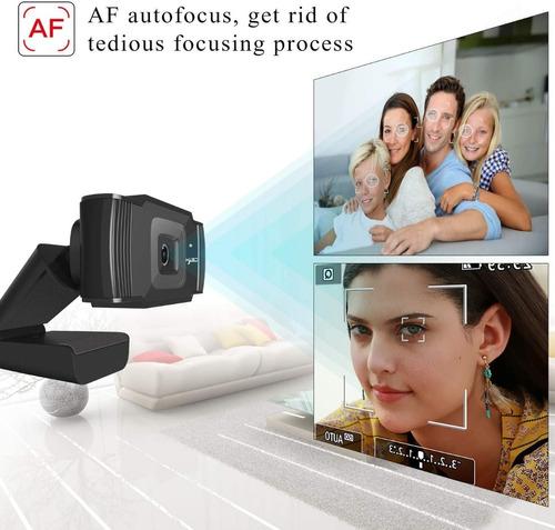 Camara Web, Web Cam 720p Hd, Microfono Incorporado Rotatoria