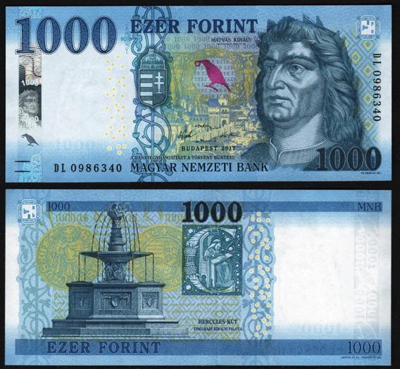Hungría Billete Del Año 2018 De 1000 Forint - Sin Circular