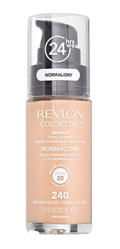 Base Líquida Colorstay Revlon Cutis Normal / Seco X 30 Ml