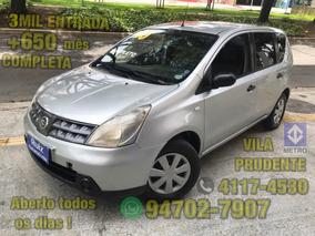Nissan Livina 1.6 Flex 5p Completa 3mil Entrada+650 Mensais