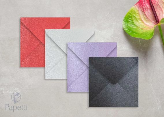 Sobres De Color Mate - Perlados // 15.5 X 15,5 // - X10u