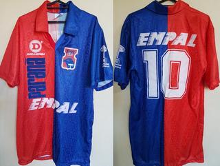 Camisa Oficial Futebol Paraná Dellerba Empal # 10 De Jogo