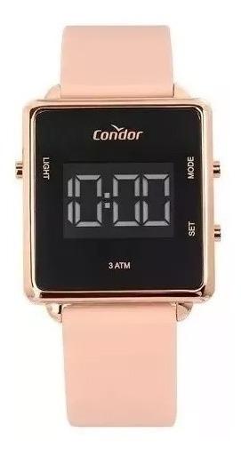 Relógio Condor Feminino Digital Trendy Rosa Cobjf156af/2j