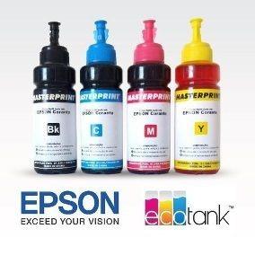 Tinta Para Impressora Epson 100 Ml
