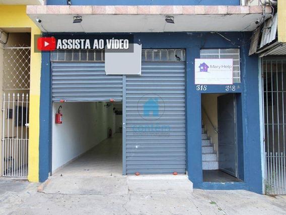 Sl0020- Salão Para Alugar, 150 M² Por R$ 2.700/mês - Jardim Das Flores - Osasco/sp - Sl0020