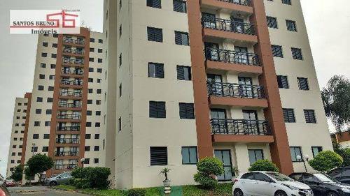 Apartamento Com 3 Dormitórios À Venda, 70 M² Por R$ 345.000,00 - Limão (zona Norte) - São Paulo/sp - Ap2624