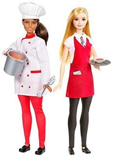 Barbie Chef & Waiter Barbie Cocina Muñecas Juguetes Niña