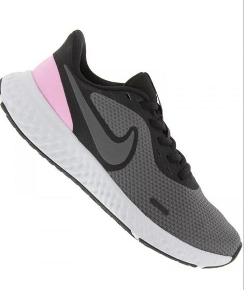 Tenis Nike Wmns Revolution 5 Referência: Bq3207 004 Gte/rosa