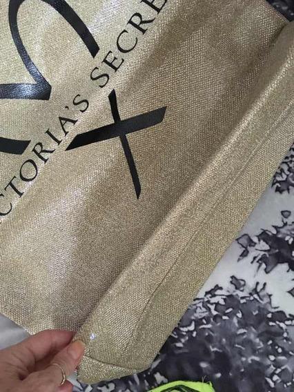 Cartera Dorada Victorias Secret O U$s 20