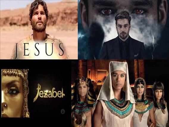 Nov Jesus + Jezabel + Apocalipse E José Do Egito + Encarte.