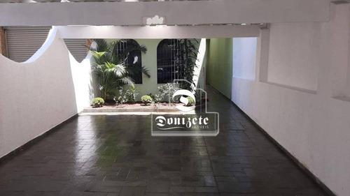 Sobrado À Venda, 210 M² Por R$ 748.000,00 - Vila Pires - Santo André/sp - So3609
