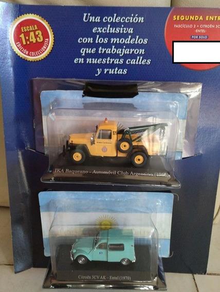 Coleccion Vehiculos Inolvidables Bakeano Ika Aca Y Citroen