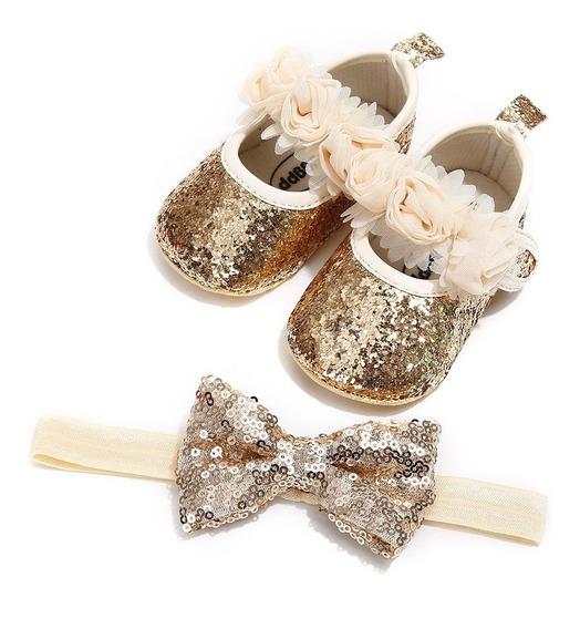 Zapato Estilo Princesa Para Bebe