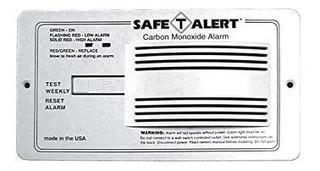 Mti Industries 65-542-p-wt Safe T Alert - Alarma De Monóxido