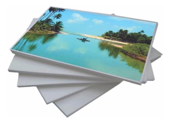Papel Fotográfico 180g A4- 20 Folhas A Prova D
