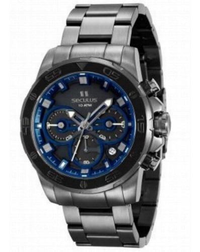 Relógio Masculino Seculus Upper Cronógrafo 13016gpsvsa2